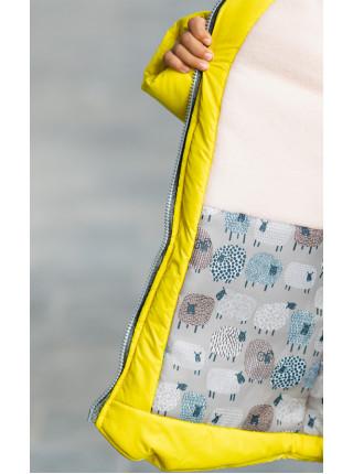 Зимняя куртка АЛИКОРН д/дев. (желтый)