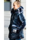Зимняя куртка ФЕЛЛ д/дев. (синий)