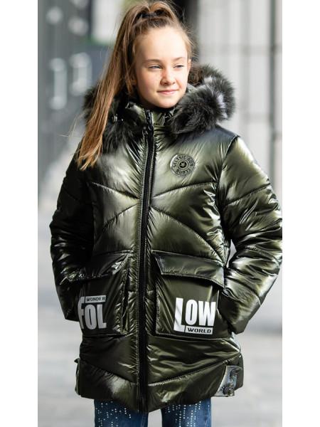 Зимняя куртка ФЕЛЛ д/дев. (хаки)