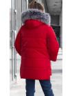 Зимняя куртка ИЗИ д/дев. (красный)