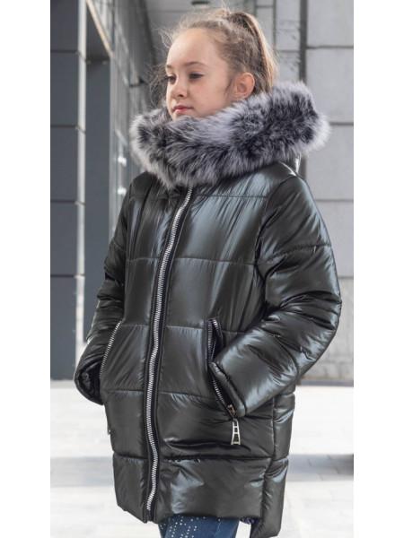 Зимняя куртка ИЗИ д/дев. (графит)