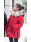 Зимняя куртка ЛИ-ЭНН д/дев. (красный)