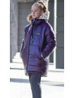 Зимняя куртка ТВИНКИ д/дев. (фиолетовый)