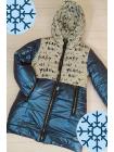 Зимняя куртка БИРМА д/дев. (синий)