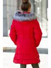 Зимняя куртка ИРМА д/дев. (красный)