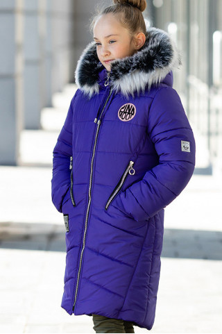 Зимняя куртка ОЛИВИЯ д/дев. (фиолетовый)