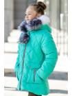 Зимняя куртка НАТАЛЬЯ д/дев (мятный)