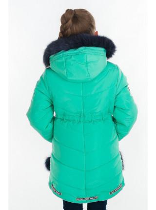 Зимняя куртка БЕТ д/дев (мята)