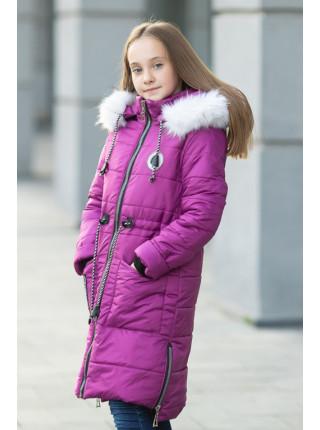 Зимняя куртка ФЕЯ д/дев (фуксия)