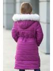 Зимняя куртка ФЕЯ д/дев.(лиловый)
