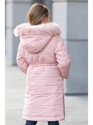 Зимняя куртка ФЕЯ д/дев(св.розовый)
