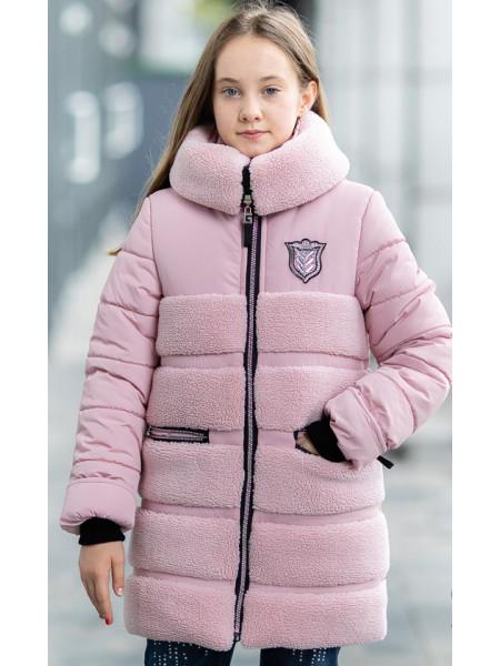 Зимняя куртка АВРОРА д/дев. (розовый)