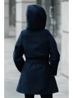 8905-2 Пальто САМИРА демисезонное (синий)
