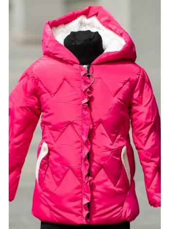 8909-1  Куртка Марджери демисезонная (малина)