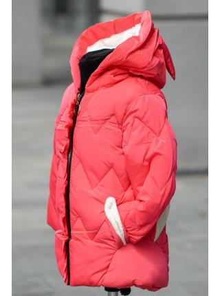 Куртка МАРДЖЕРИ демисезонная (коралл)