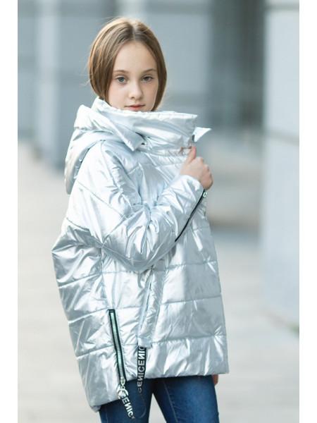 Куртка КРОШКА демисезонная(св.серебро)