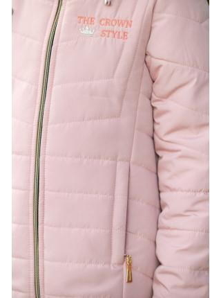 Куртка ПЕППИ демисезонная(св.розовый)