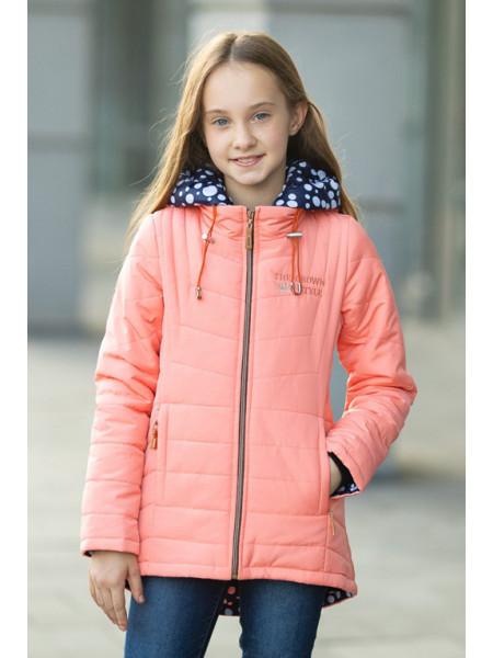 Куртка ПЕППИ демисезонная(персик)