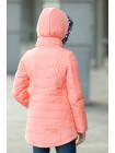 8914 Куртка Пеппи демисезонная (персик)