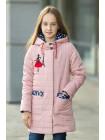 8915 Куртка Балерина демисезонная (св.розовый)