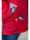 8916-2 Куртка Кари демисезонная (малиновый)