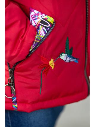Куртка КАРИ демисезонная (малиновый)