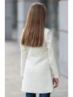 8920-1 Пальто ЛЕДА демисезонное(белый)