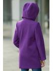 8921-1 Пальто ДИЛАЙЛА демисезонное(фиолетовый)