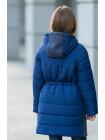 8922-1 Пальто ЛАНИ демисезонное(синий)