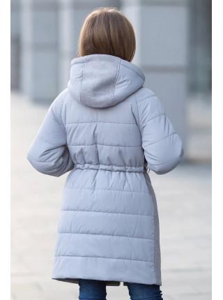 Пальто ЛАНИ демисезонное(серый)