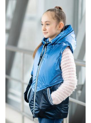 Куртка БЛЭР демисезонная (электрик/синий)