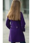8928-2 Пальто НОТТА демисезонное(фиолетовый)