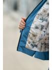 8931-2 Куртка РОЗАЛИ демисезонная(голубой)