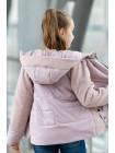 8931-3 Куртка РОЗАЛИ демисезонная(пудра)