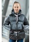 8933-2 Куртка БЕРРИ демисезонная(серый)