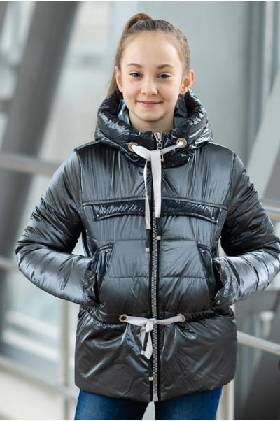 Куртка БЕРРИ демисезонная (серый)