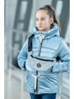 8933-7 Куртка БЕРРИ демисезонная(голубой)