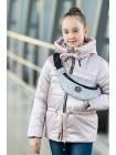 8933-8 Куртка БЕРРИ демисезонная(св.розовый)