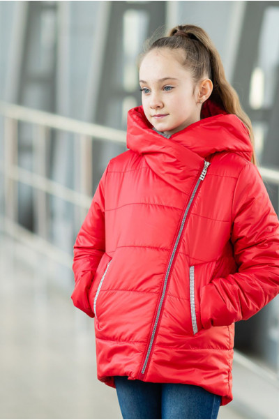 Куртка ЭВА демисезонная (красный)