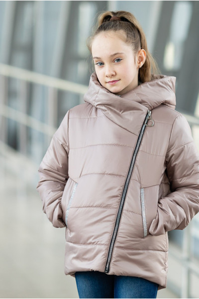Куртка ЭВА демисезонная (пудра)