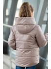 8934-2 Куртка ЭВА демисезонная(пудра)