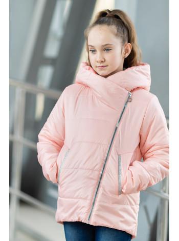 8934-3 Куртка ЭВА демисезонная(розовый)