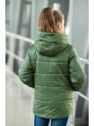 8934 Куртка ЭВА демисезонная(хаки)