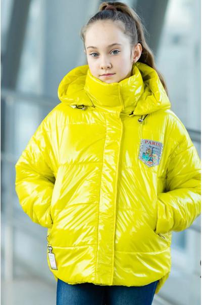 Куртка ДЖИННИ демисезонная (желтый)