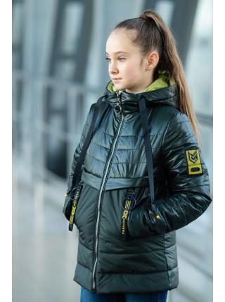 Куртка РЭЙЧЕЛ демисезонная (графит)