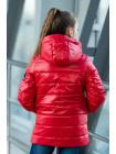 8936 Куртка РЭЙЧЕЛ демисезонная(красный)