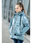 8937-1 Куртка ВИВИАН демисезонная(голубой)