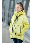 8937-2 Куртка ВИВИАН демисезонная(лайм)