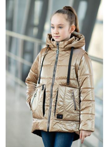 8937 Куртка ВИВИАН демисезонная(бежевый)
