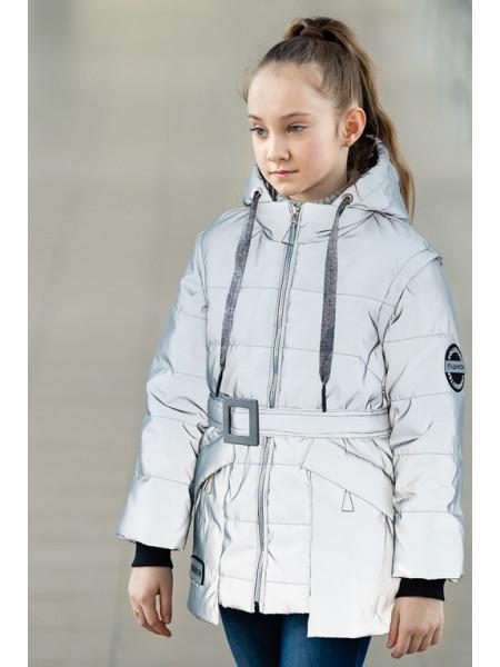 Куртка СЭНДИ демисезонная (св.голубой)